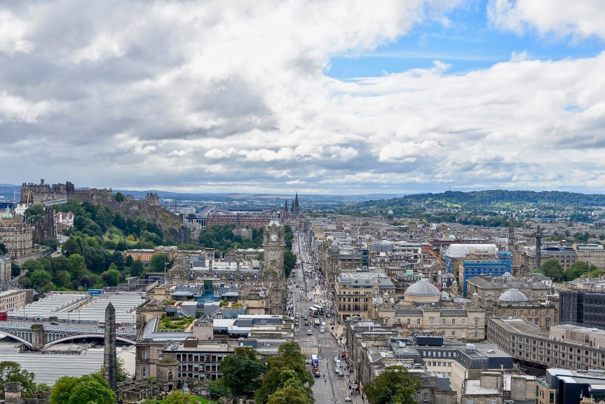 Edinburgh: The Scenic 360º