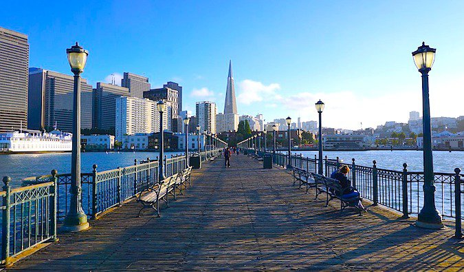 San Francisco is an example of a city with free walking tours